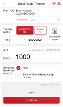 Parents and Children | i-Free Banking | Bank of China (Hong